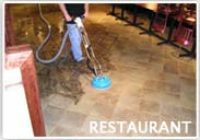 Restaurant Floor Restoration